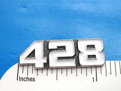 428  engine - hat pin , lapel pin , tie tac , hatpin  ( white color ) GIFT BOXED