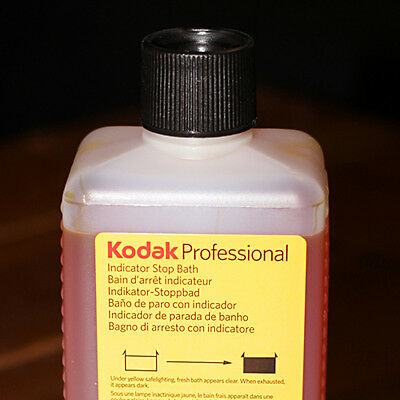 KODAK INDICATOR STOP BATH (16 oz TO MAKE 8 gallons)