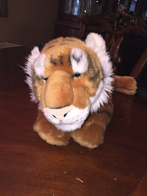 FAO Schwarz 19 inch Plush Tiger Toys R Us Soft and Realistic #383 Large
