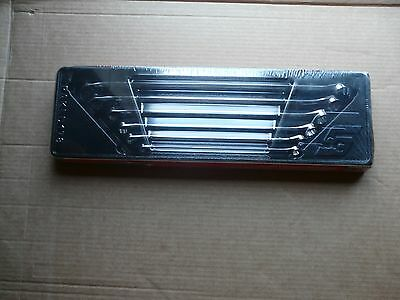 SNAP ON XDHM606 6 pc Hi Performance 15 degree offset Box Wrench spanner set new