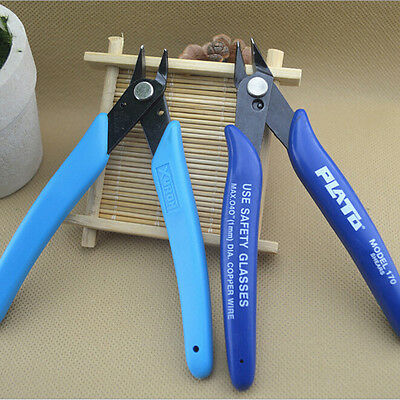 Useful Mini Durable Bevel Electronic Pliers Wire Cable Cutter Tools Color Random