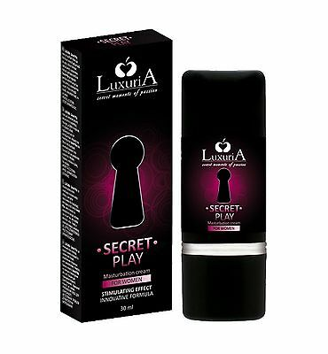 Gel Lubrificante Intimo Vaginale azione Stimolante per Lei Secret Play Luxuria