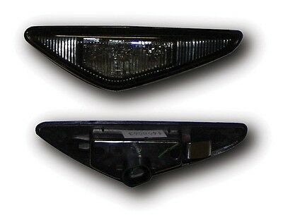 Bmw 3 Series E46 Coupe 03-06 Crystal Black Led Side Repeaters