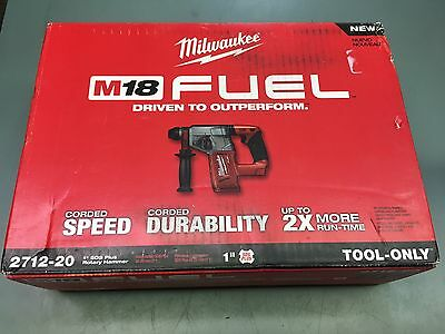"""Milwaukee M18 FUEL 1"""" SDS Plus Rotary Hammer (TOOL ONLY)  2712-20 Pl"""