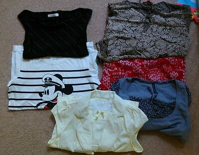 ladies summer tops bundle size 8-10