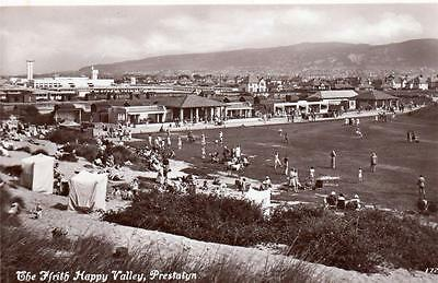 Happy Valley Prestatyn  Holiday Camp ? unused RP old pc Walkden Williams & Co