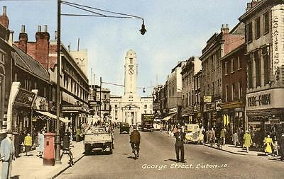 George Street Luton unused old pc National Series