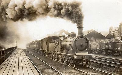 Caledonian Railway Perth  Station  number 0-6-0 on back RP pc