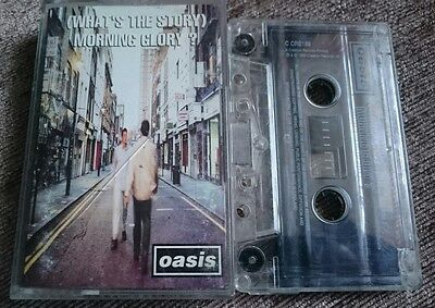 Oasis~(What's The Story) Morning Glory? ~Cassette Tape Album~Fast Post