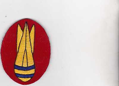 WW2 British Army Bomb Disposal personnel patch, reproduction