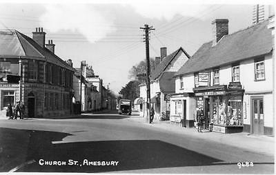 Church Street Amesbury Shop unused RP old pc Forest Series