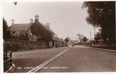 Cornhill on Tweed Nr Coldstream or Cornhill  Nr Banff unused RP pc
