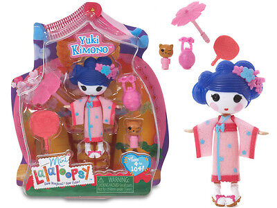 Mini LALALOOPSY Doll YUKI KIMONO Japanese Style Toy with Accessories NEW & BOXED