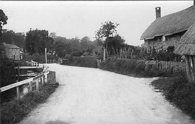 The Bridge Fovant Nr Chilmark Wilton unused RP old pc