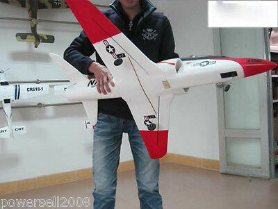 New White Length 108CM Remote Control Plane Fixed Wing Glider Model Children Toy