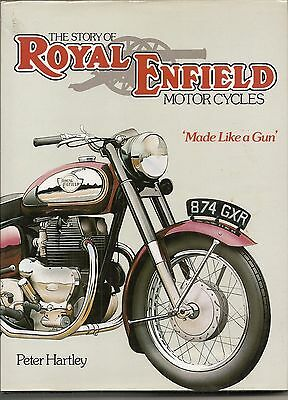 Royal Enfield Motor Cycles By Peter Hartley 1981