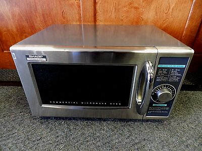Sharp 1000W /r-21Lc Commercial Microwave Oven Used (B-6)