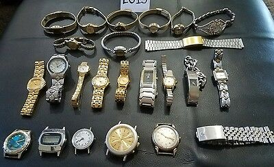 ES13- Vintage Gold Filled Diamond Accent Watches & Bands Rolex, Swistar & MORE