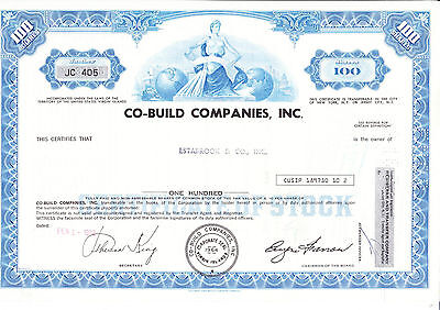 Co Build Companies, Inc., 1972