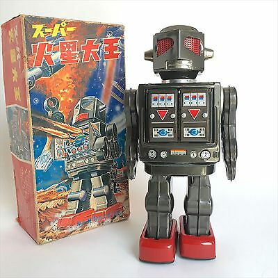 RARE! Great Mars Robot  by Horikawa made in Japan Free Shipping