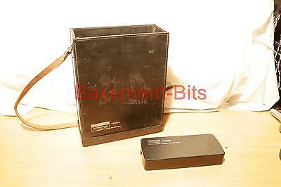 LEATHER CASE n LID 4 Schlumberger Solartron 7150 plus DMM digital multi meter #1