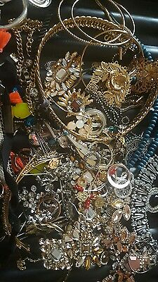 Job Lot Of Broken Jewellery
