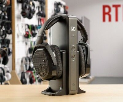 Sennheiser RS 175 RF Wireless Stereo Headphone System for TV & Music - Warranty