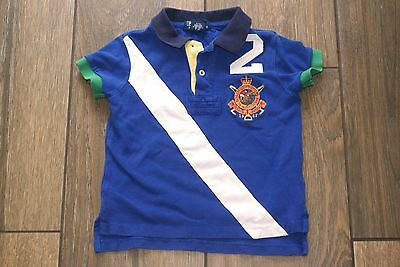 RALPH LAUREN boys blue polo shirt, 3 years, OTHER ITEMS FOR SALE