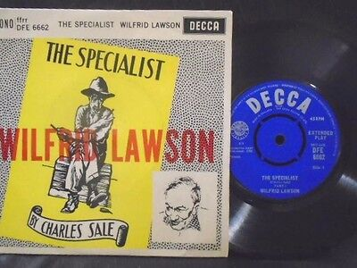 """WILFRED LAWSON """" THE SPECIALIST """" Or.UK DECCA EX  COND. IN Or.PIC SL."""