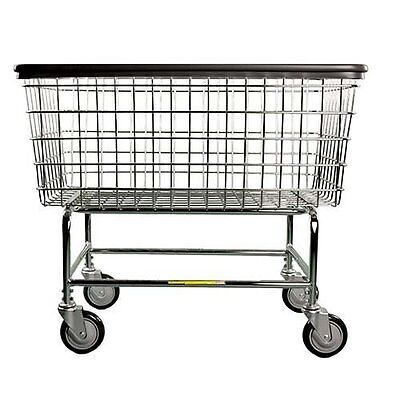 R&B Wire 200H 6 Bu. Laundry Cart