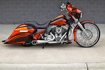 "2016 Harley-Davidson Touring  2016 STREET GLIDE CUSTOM *1 OF A KIND* 26"" WHEEL! CHROME GALORE!! BEST ON EBAY!!"