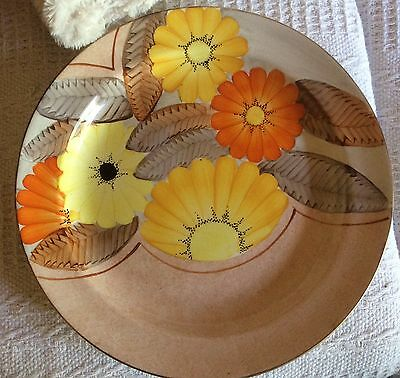 Grays pottery Handpainted plate plaque