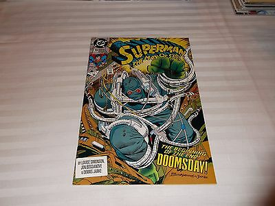 Superman The Man Of Steel #18 1St App Of Doomsday