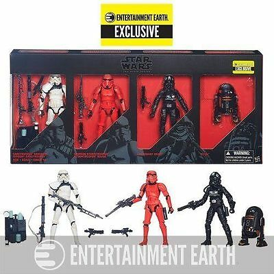 "Star Wars Entertainment Earth Exclusive Imperial Forces 6"" Black Series"