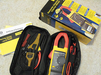 New Fluke 381 Remote Display Clamp Meter with iFlex flexible current probe