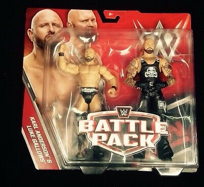 Wwe Karl Anderson & Luke Gallows Battle Pack 46 Figures New Very Rare The Club