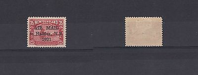 Newfoundland 1921 35c Air Mail Halifax 2¾mm Spacing No Stop Lightly Hinged