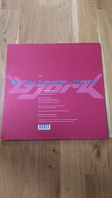 "BJORK - Big Time Sensuality/ One Day 12"" Vinyl Promo Remixes (Mint) 10% OFF RSD"