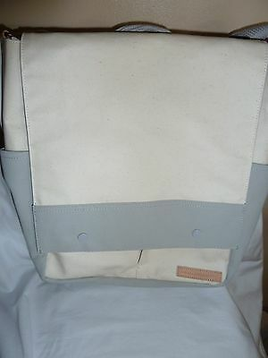 Petunia Pickle Bottom Pathway Backpack Diaper Tote Birch/Stone Coated Canvas