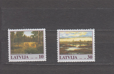 Latvia 1998 Nature Reserves Complete Set Mint Never Hinged