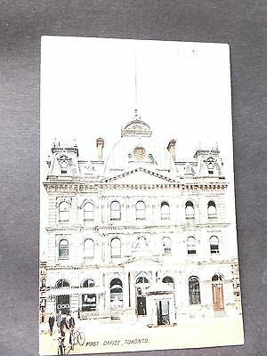 Post Card; Vintage, Post Office,Toronto  Ontario,Canada- posted 1907