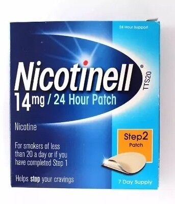 Nicotinell Step 2 14mg Patch - 7 Day Supply