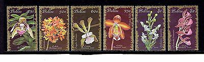 Belize 2002 Set of 6, Christmas / Orchids. SG1292-1297. UnMounted Mint.