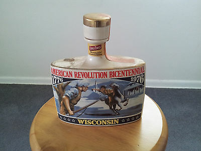 Early Times Collectible Bottle Decanter - Wisconsin Bicentennial