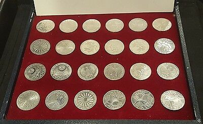 1972 German Olympic Games 24 Coin Collection (2021)