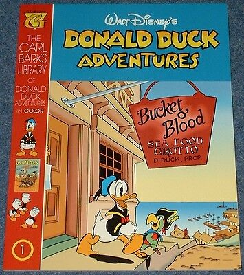 The CARL BARKS LIBRARY of DONALD DUCK ADVENTURES # 1 5 7 9 13 & 24