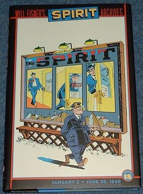 THE SPIRIT ARCHIVES Volume 18 - Classic Will Eisner Newspaper Strips DC Comics