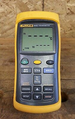 Fluke 54II Thermometer **Tool Only, No Leads**