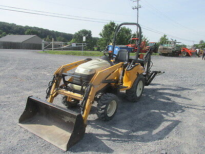 2007 Cub Cadet 6284 4x4 Diesel Compact Tractor Loader Backhoe!
