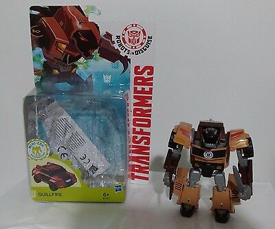 Transformers RID Robot in Disguise Warrior Quillfire Hasbro MOC